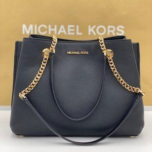 Michael Kors Teagen Large Satchel Shoulder Tote